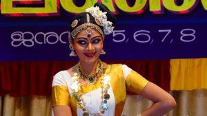 Mohiniyattam Dancer